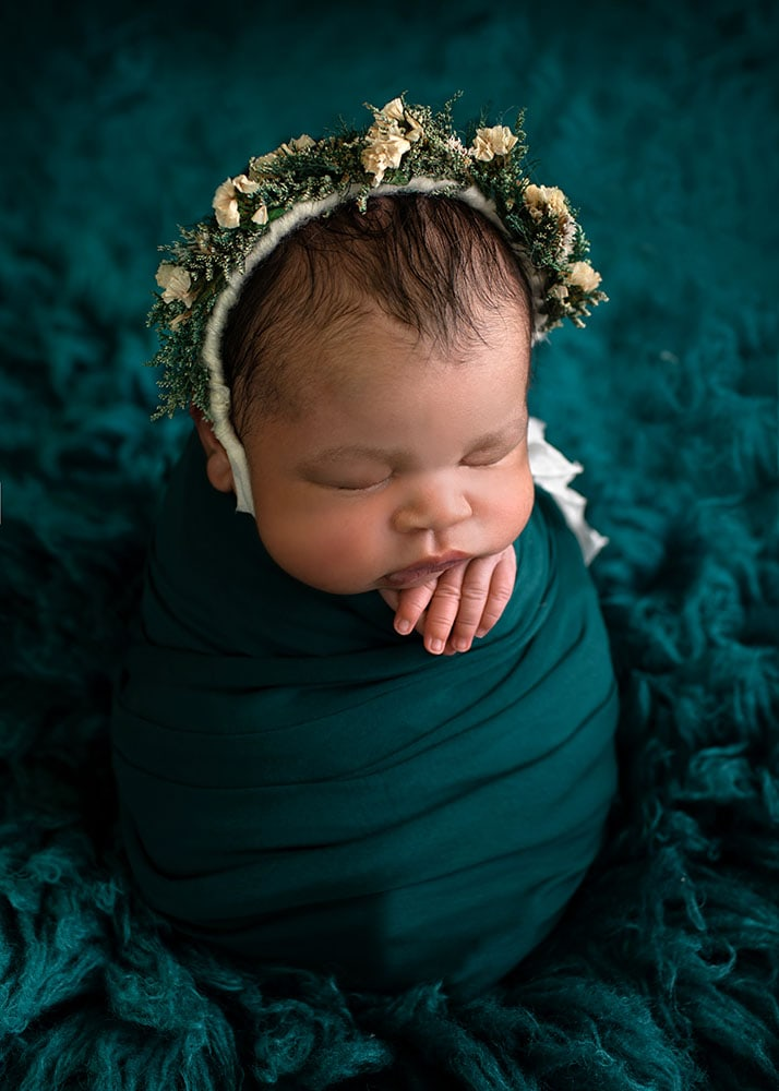 newborn-baby-girl-wrapped-headband