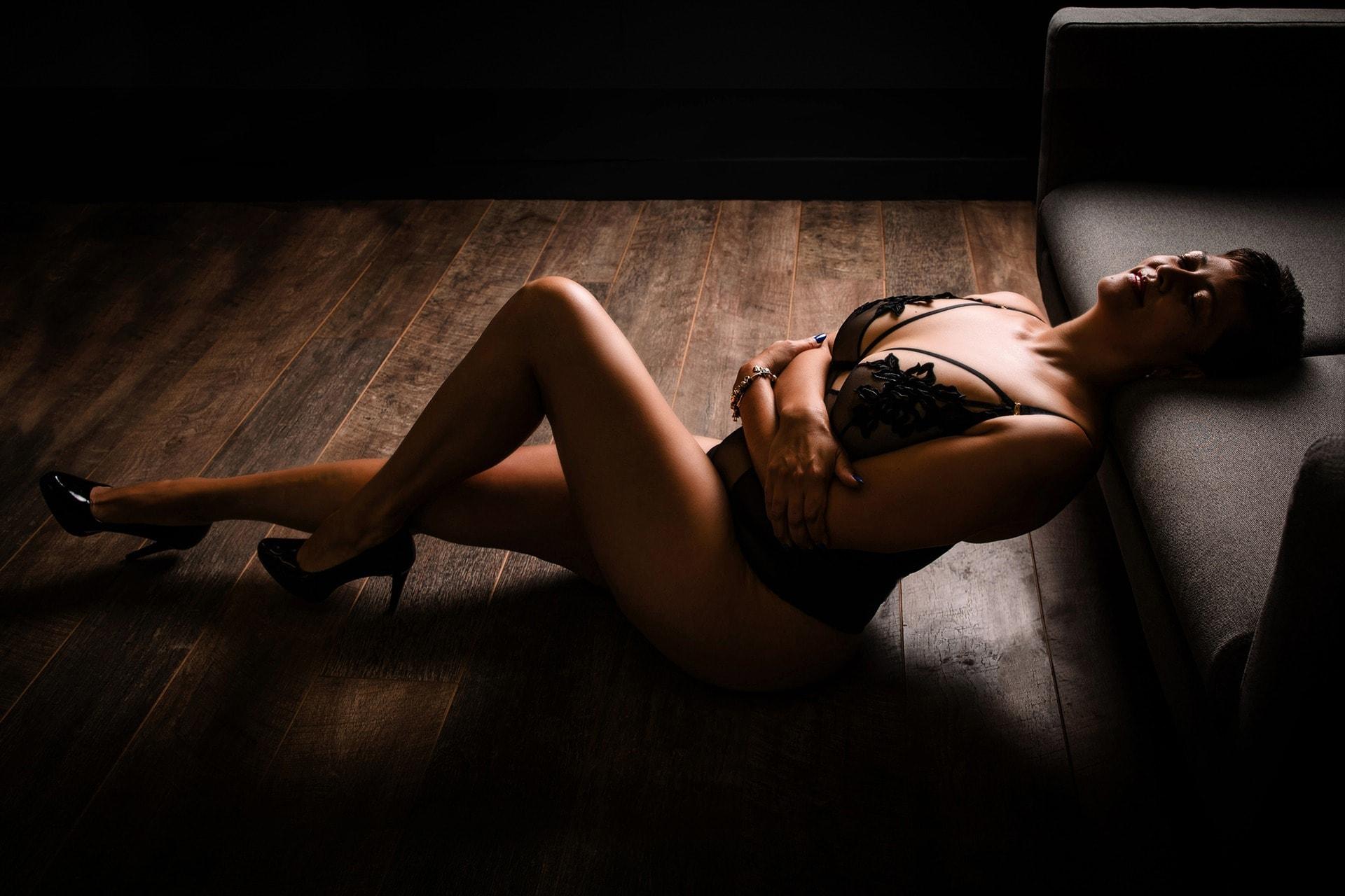 older women boudoir shoot in leeds